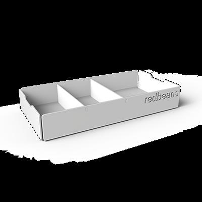 Aluminium bakje suiker/melkcupje - vergaderruimte